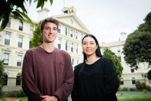 2019 student editors Reto Blattner de-Vries-and Te Kooanga Awatere-Reedy