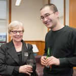 Guests at the relaunch of the Maori Law Review (Victoria University Image Services)