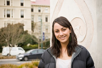 Photo of Erin Carr, student editor, Māori Law Review