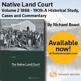 NZ Native Land Court Volume 2