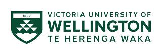 Victoria University of Welligton logo